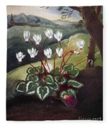 Thornton: Cyclamen Fleece Blanket