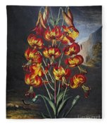 Thornton: Superb Lily Fleece Blanket