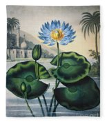 Thornton: Water Lily Fleece Blanket