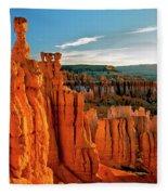 Thor's Hammer Bryce Canyon National Park Fleece Blanket