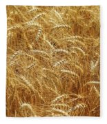 Those Beautiful Waves Of Grain Fleece Blanket