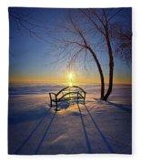 Thoughts And Prayers Fleece Blanket