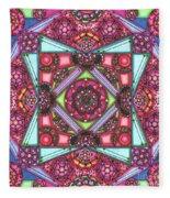 Thoughts Of Pink Fleece Blanket