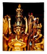 Thousand Hands Buddha Fleece Blanket