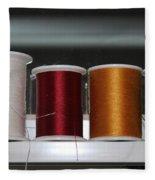 Thread On A Sill Fleece Blanket