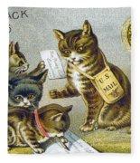 Thread Trade Card, 1880 Fleece Blanket