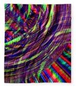Threads Fleece Blanket