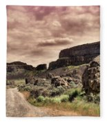 Threatening Skies Fleece Blanket