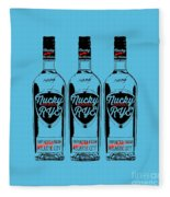 Three Bottles Of Nucky Rye Tee Fleece Blanket
