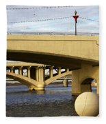 Three Bridges Fleece Blanket