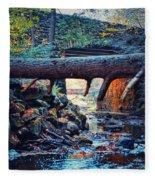 Three Bridges  Fleece Blanket
