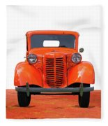 Three Colored Cars Fleece Blanket