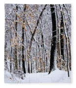 Three Creeks Conservation Area - Winter Fleece Blanket