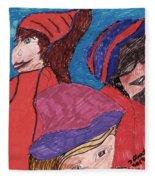 Three Directions Fleece Blanket