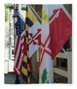 Three Flags Fleece Blanket