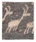 Three Goats Fleece Blanket