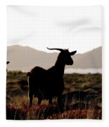 Three Goats Fleece Blanket