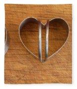 Three Heart Cutters Fleece Blanket