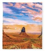 Three Mesas Fleece Blanket