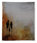 Three Of Us  Fleece Blanket