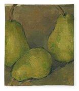 Three Pears Fleece Blanket