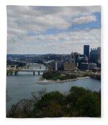 Three Rivers Fleece Blanket