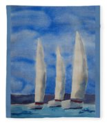 Three Sails Fleece Blanket