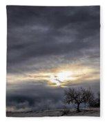 Three Trees Fleece Blanket