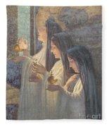 Three Wise Virgins Fleece Blanket