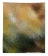 Through A Glass Lightly Fleece Blanket