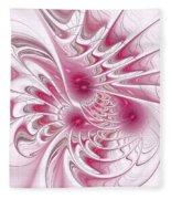 Through Rose-colored Glasses Fleece Blanket