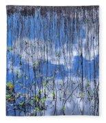 Through The Reeds Fleece Blanket