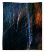 Through The Woods Fleece Blanket