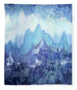 Through To Stillness Fleece Blanket