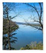 Through To The Susquehanna Fleece Blanket