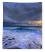 Thunder Tides Fleece Blanket