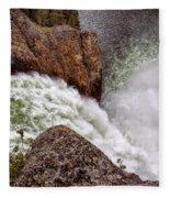 Thundering Waters Fleece Blanket