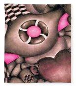Tickled Pink Fleece Blanket