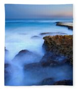 Tidal Bowl Boil Fleece Blanket