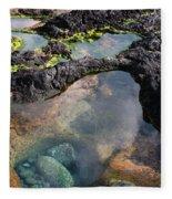 Tidal Pool Fleece Blanket