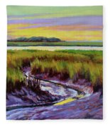 Tidal Stream Fleece Blanket