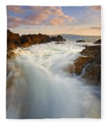 Tidal Surge Fleece Blanket