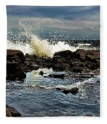 Tide Coming In Fleece Blanket