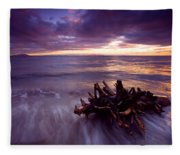 Tide Driven Fleece Blanket