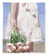 Tide Of Romance Fleece Blanket
