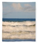 Tide Rolling To The Shores Fleece Blanket