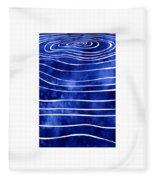 Tide X Fleece Blanket