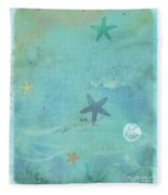 Tidepool I Fleece Blanket