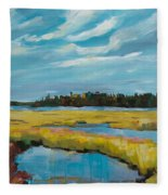 Tidewater II Fleece Blanket