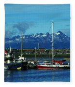 Tierra Del Fuego Fleece Blanket